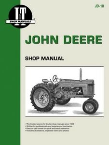 I t Shop Manual John Deere 50 60 70 Tractors