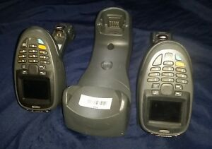 Symbol Motorola Mt2070 sl0d62370wr Barcode Wireless Scanners Lot Of 2