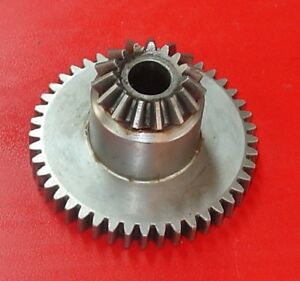 A B Dick Printing Press Parts Feed Table Raise Miter And Spur Gear 072561