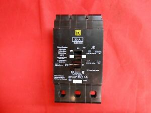 Square D Ejb34030 Circuit Breaker 30a 3p New Wrong Box