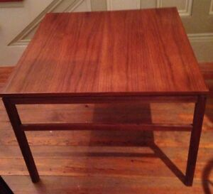 Arbatove Mid Century Danish Modern Coffee End Table 1950 Risom Hans Wegner Eames