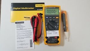 New Other Fluke 77 Iv Multimeter Manual Accessories Tp 239314