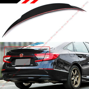 For 2018 2019 Honda Accord Painted Black Pearl Duck Tail Duckbill Trunk Spoiler