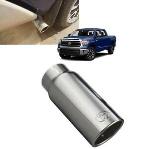 2013 2019 Tundra Exhaust Tip Chrome Exhaust Tip Genuine Toyota Pt932 34160 Oem