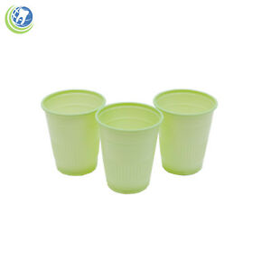 Dental Practice Disposable Plastic Drinking Cups 5 Oz 148 Ml Green Case Of 1000