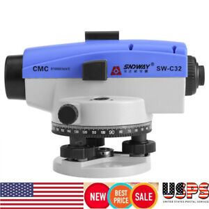 Optical Level 32x Self leveling Tool Accuracy Engineering Measuring Instrument