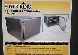 Silver King Commercial Refrigerator model Sksr