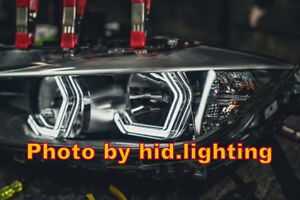 Us Angel Eyes Iconic Style M4 Style For Bmw Headlight 2 3 4 5 Series Crystal