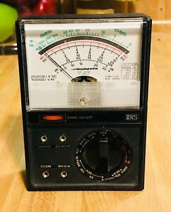 Vintage Analog Micranta Ac dc Volt Meter Made In Usa With Box