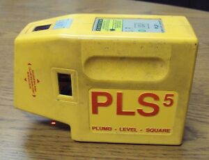Pacific Laser Systems Pls 5 Laser Level With Case