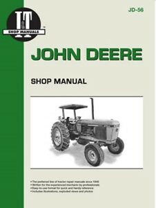 I t Shop Manual John Deere Models 2840 2940 2950 Tractors