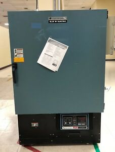 Blue M Industrial Oven Cc Series Cc 09s m b 350c Max Temp With Warranty