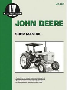 I t Shop Manual John Deere Models 2510 2520 2040 2240 2440 2630 4440