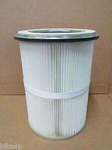 Dust Collection Filter Helix Inner Bands Outer Round Flange Sb Media 14 X 18