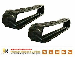 2pc Rubber Track 300x52 5x84 Case Ck 36 Mini Excavator