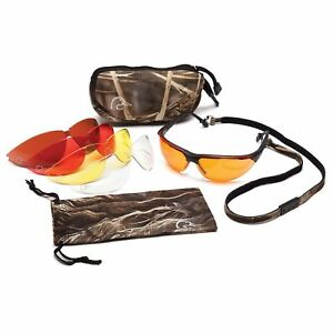 Ducks Unlimited Shooting Safety Glasses Kit With 5 Interchangeable Lenses