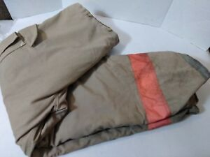 Firefighter Turnout Bunker Pants Quest 40 X 30 Mountain View Mfg Nice Used Pair
