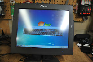 Ncr 7754 Pos Touchscreen Terminal P1530 D2560 2 00ghz 4gb Ram 80gb Hdd Win 7