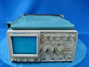 Tektronix 2465b Analog Oscilloscope Parts Unit