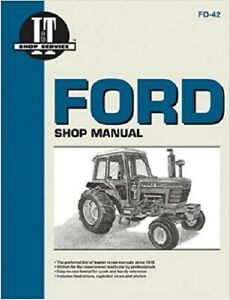 I t Shop Manual Ford 5000 5600 5610 6600 6610 7000 7600 7610 7000 7710