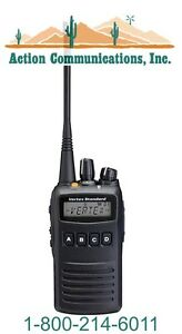 New Vertex standard Vx 454 Uhf 450 512 Mhz 5 Watt 512 Channel Two Way Radio