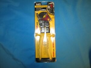 Klein Tools 63607 Small Ratcheting Cable Cutter Acsr cooper aluminum
