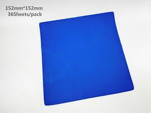 Dental Latex Dam Unscented Natural Rubber Dam Dark Blue Color