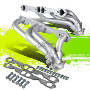 Paint Finished Racing Manifold Header Exhaust For 88 97 5 0 5 7 V8 C K C10 Truck