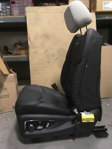 Chevrolet 2017 Escalade Front Driver S Seat Black Leather