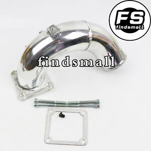 New High Flow Intake Elbow Tube For 98 5 02 Dodge Ram 5 9l Cummins Diesel Silver