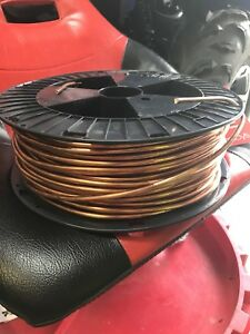 Soft Annealed Ground Wire Solid Bare Copper 4awg 198 Ft 25lbs New Shiny
