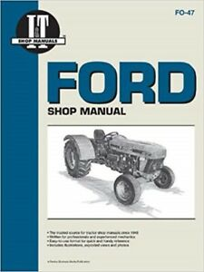 I t Shop Manual Ford Tractor 3230 3930 4630 4830