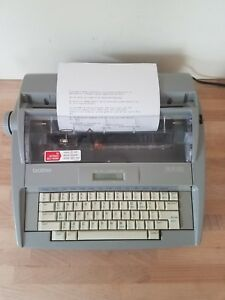 Brother Sx 4000 Electronic Typewriter Daisy Wheel Dictionary Display Lcd