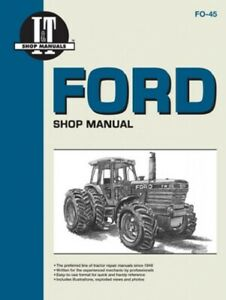 I t Shop Manual Ford Tractor Tw5 Tw15 Tw25 Tw35