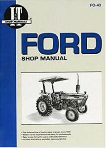 I t Shop Manual Ford Tractor 2810 2910 3910
