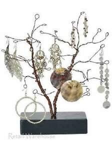 Wire Jewelry Tree Earrings Bendable 10 5 High Countertop Retail Display