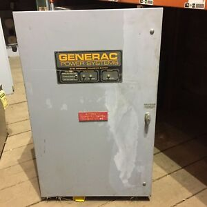 Generac Automatic Transfer Switch 480 Volt 400amp Gts040w 3k2ldnan