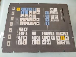 Brother Cnc Panel Keyboard Unit Ab12c 2057
