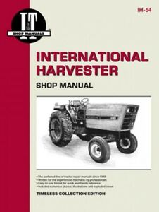 I t Shop Manual International Harvester 3088 3288 3488 Hydro 3688 Tractors