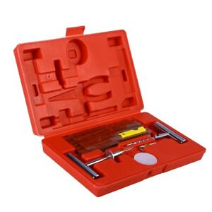 56 In 1 Durable Convenient Heavy Duty Motorcycle Tyre Patching Repairing Set Kit