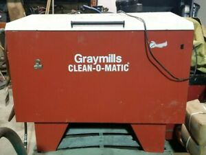 Graymills Clean o matic Small Parts Washer cleaner