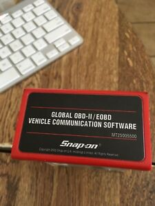 New Snapon Mt2500 Global Obd11 Eobd Vehicle Communication Scanner Softw Cartrige