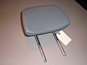 03 07 Saab 9 3 93 Driver Or Passenger Front Seat Headrest Gray Head Rest Leather