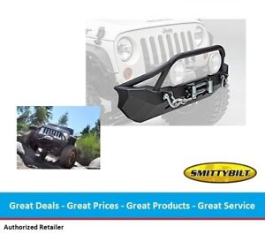 Smittybilt Xrc Front Bumper With Winch Plate For 07 17 Jeep Jk Wrangler