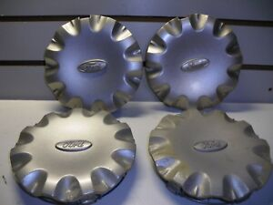 1999 2003 Ford Windstar Center Caps Xf22 1a096 Ab Set Of 4