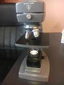 Bausch Lomb Microscope Used Condition Works Great