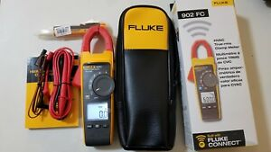 New Fluke 902 Fc 902fc Hvac Clamp Meter Digital Multimeter Tp 224227