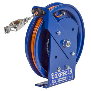 Coxreels Sd 100 100 foot Spring Rewind Static Discharge Cable Reel