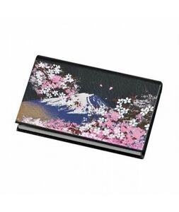 Japanese Business Name Card Holder Fuji Cherry Blossom Card Case Gift From Japan