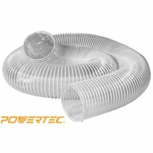 4 Inches By 20 Feet Flexible Dust Collection Collector System Hose Attachment